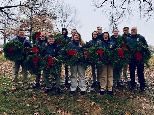 JROTC Wreaths Across America