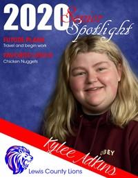 Kylee Adkins - Class of 2020