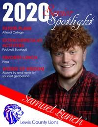Samuel Bunch - Class of 2020
