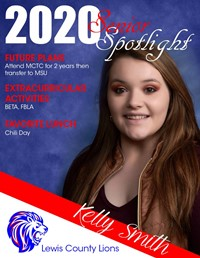 Kelly Smith - Class of 2020
