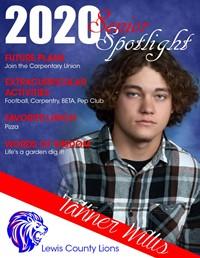 Tanner Willis - Class of 2020