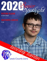Timothy Tumlin - Class of 2020