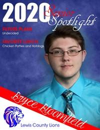 Bryce Bloomfield - Class of 2020