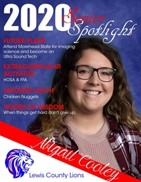 Abigail Cooley - Class of 2020