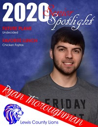 Ryan Thoroughman - Class of 2020