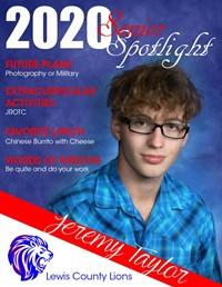 Jeremy Taylor - Class of 2020