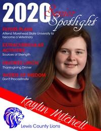 Kaylin Mitchell - Class of 2020