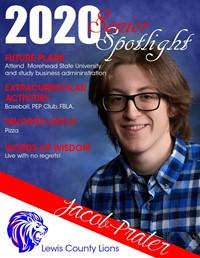 Jacob Prater - Class of 2020