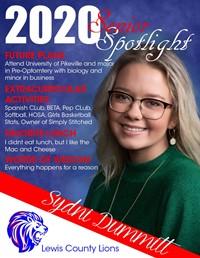 Sydni Dummitt - Class of 2020