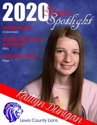 Kaitlyn Dunigan - Class of 2020