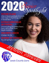 Miriam Elmouni - Class of 2020