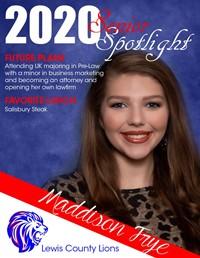 Maddison Frye - Class of 2020