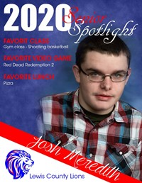 Josh Meredith - Class of 2020