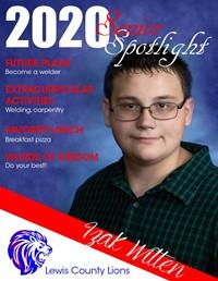 Izak Witten - Class of 2020
