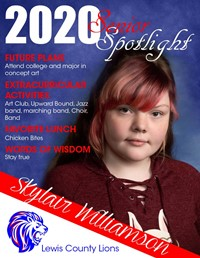 Sylair Williamson - Class of 2020