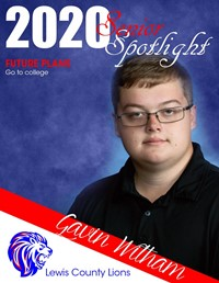Gavin Witham - Class of 2020