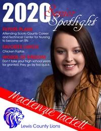 Mackenzie Tackett - Class of 2020