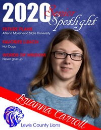Brianna Carroll - Class of 2020