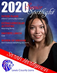 Sarah Hardymon - Class of 2020