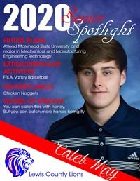 Caleb May - Class of 2020