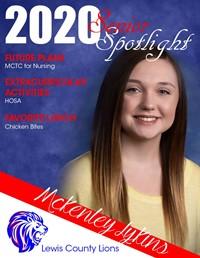McKenley Lykins - Class of 2020