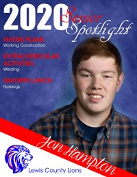 Jon Hampton - Class of 2020