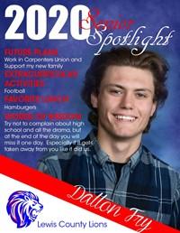 Dalton Fry - Class of 2020