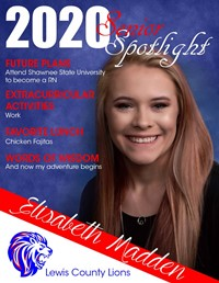 Elisabeth Madden - Class of 2020